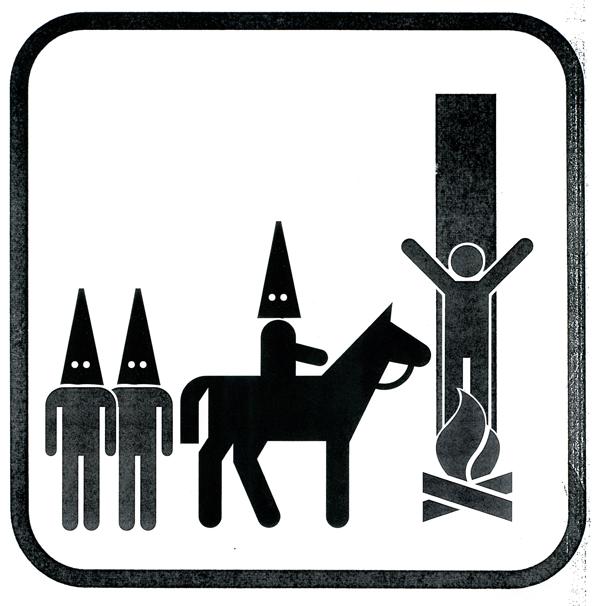 Pictogramas - Klu Klux Klan